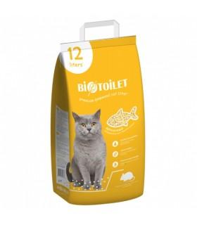 Kassiliiv Puidugraanulid kassitualeti jaoks Biotualett 12L 4,5kg
