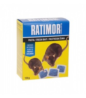 Hiire- ja rotimürk Ratimor pastapadjakesed 150g