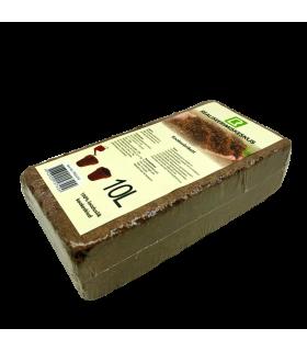 Kookosbrikett 10L Coco Peat 20x10x5.5cm 1tk