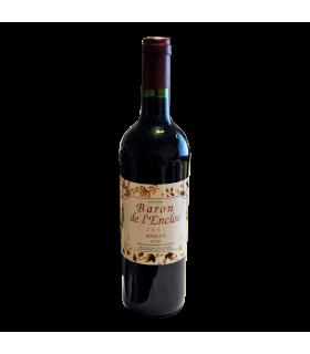 Vein KGT Baron de l'Enclos Merlot punane/kuiv 12,5% 750ml