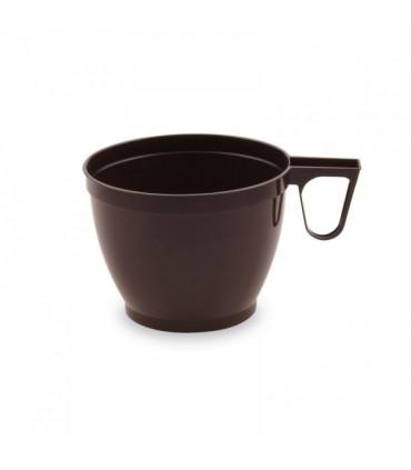 Kohvitops plast 18cl pruun 20tk/pk