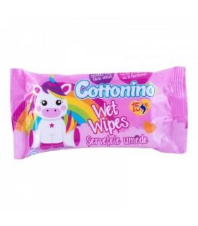 Niisked salvrätikud cottonino Unicorn 72tk
