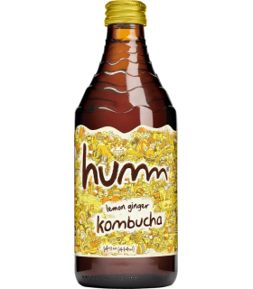 Humm Kombucha Lemon-Ginger 414ml