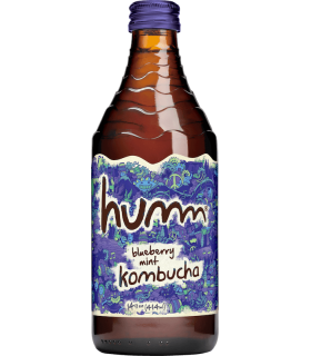 Humm Kombucha Blueberry-mint 414ml