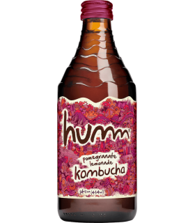 Humm Kombucha Pomegranate Lemonade 414ml