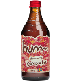 Humm Kombucha Strawberry 414ml