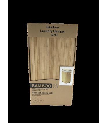 Pesukorv bambus 40x30xH60cm