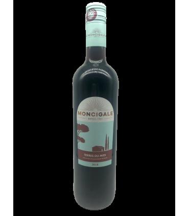 Vein KGT Moncigale Terres du Midi 2018 roosa/kuiv 13% 75cl