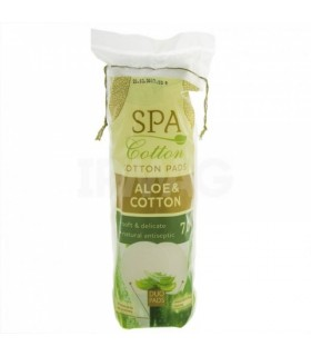 Vatipadjad Spa cotton Aloe 70tk