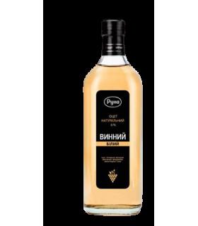 Naturaalne valge veiniäädikas 6% 0,5L Runa