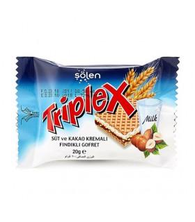 Batoon vahvli shokolaadikreemi, sarapuupähkliga Triplex 20g