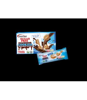 Küpsised šokolaadikreemiga Tasties suhkuruvaba 176g