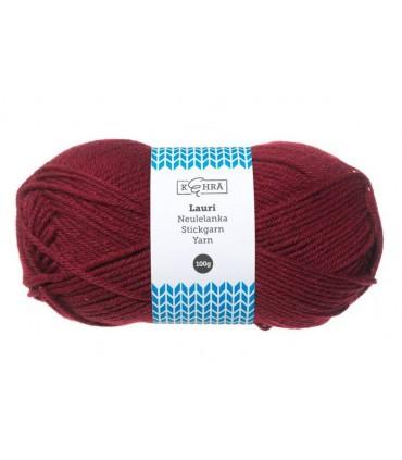 Lõng Kehrä Wool Thread 100g Roll Burgundy