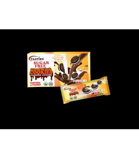 Šokolaadiküpsised vanilje kreemiga Tasties suhkruvaba 176g