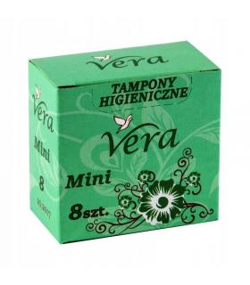 Tampoonid VERA Mini 8tk