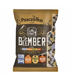 Karamellikommid BeeMBER alkohol 10% 100g