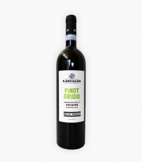 Vein KPN DELLE VENEZIE S.OSVALDO PINOT GRIGIO 2018 valge/kuiv 12% 75cl