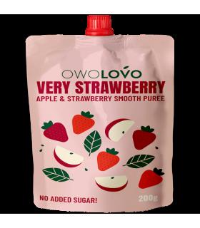 Õunapüree maasikatega OwoLovo 200g