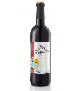 Vein Clos Roquine 2019 punane/kuiv 12,5% 75cl