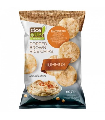 Riisikrõpsud RiceUP! Hummusega 60g