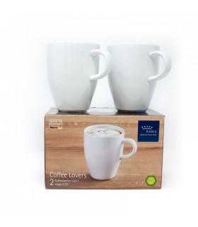 Kahla kohvitassi komplekt 2 tk 0,32 L portselanvalge