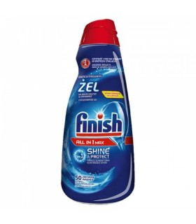 Nõudepesumasina geel FINISH All-in-1 Max 1000ml