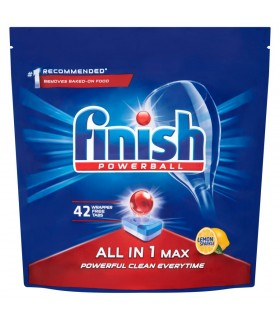 Nõudepesumasina tabletid FINISH All-in-1 Max Lemon 42tk