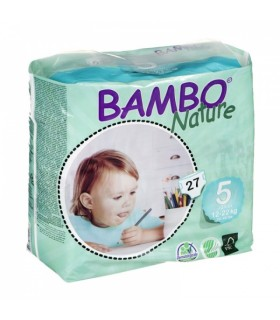 Mähkmed BAMBO NATURE Junior nr 5 12-22kg 27tk