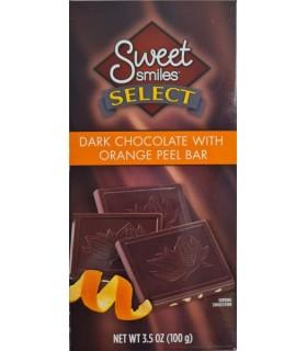 Šokolaad Sweet Smiles tume apelsinikoorega 100g