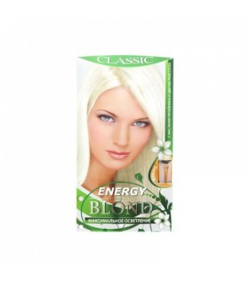 Juuksevärv Blonde hair dye Energy
