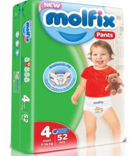 MOLFIX MAXI 9-14kg 52tk