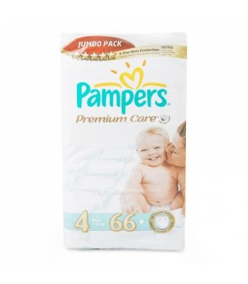 Mähkmed Pampers Premium Care S4 JP 66tk