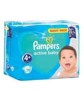 Mähkmed PAMPERS GP S4+ 70tk