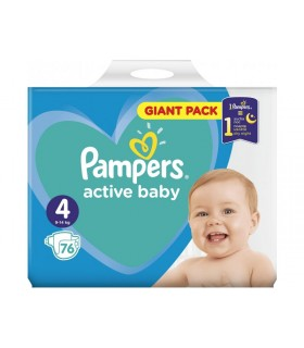Mähkmed PAMPERS GP S4 76tk