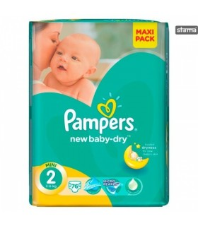 Mähkmed Pampers AB VPP S2 76tk