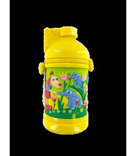 Joogipudel kõrrega Lotte kollane
