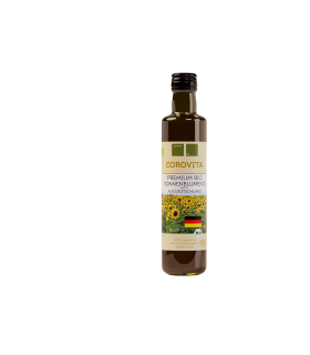 Päevalilleõli Corovita orgaaniline Saksamaa 500ml