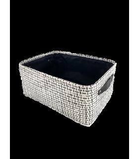 Korv tekstiil 27x19x14cm