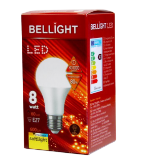 Bellight LED lamp E27 8W