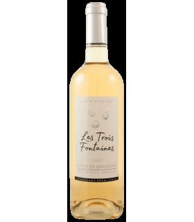 Vein KGT GASCOGNE LES TROIS FONTAINES 2018 BIO valge/kuiv 12% 75cl