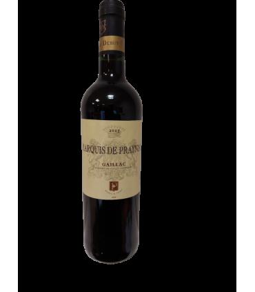 Vein KPN MARQUIS DE PRAYNIAC 2017 punane/kuiv 12.5% 75cl